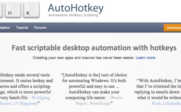 AutoHotKey] #1 – 환경구축하기 | hacksum